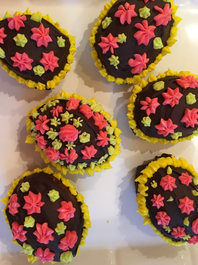 Nanaimo Bar Easter Eggs