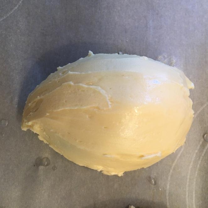 Nanaimo Bar Easter Eggs - Icing